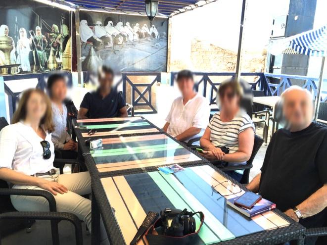 Lunch in Essaouira